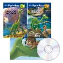 디즈니 Good Dinosaur 굿다이노 Fun to Read 2종+Read Along 1종 Book&CD 세트