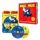 �ޱ� ��� Meg and Mog ��å 10�� �ڽ� & DVD 2�� ��Ʈ