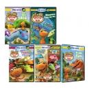 [미국직배송] 아기 공룡 버디 Dinosaur Train DVD 6종 세트 (에피소드 45편 655분)