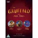 [영국직배송][DVD] 그루팔로 The Gruffalo and Other Stories DVD (The Gruffalo/The Gruffalo's Child/Room On The Broom)