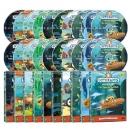 바다탐험대 옥토넛 DVD 2집 세트(DVD10종+오디오CD10종)