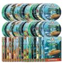 바다탐험대 옥토넛 DVD 1+2집 세트(DVD18종+오디오CD18종)