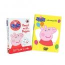 NEW 페파피그 DVD 1집 8종세트 + 페파피그(Peppa pig) 102개 단어,문장 플래시카드(단독수입)