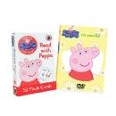 NEW 페파피그 DVD 2집 8종세트 + 페파피그(Peppa pig) 102개 단어,문장 플래시카드(단독수입) 1만원 즉석할인 쿠폰
