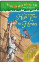 High Time for Heroes Magic Tree House #51 (PB+CD)