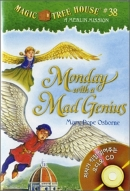 MONDAY WITH A MAD GENIUS Magic Tree House #38 (PB+CD)