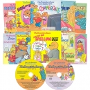 The Berenstain Bears Storybook 도서 10권 & 오디오 CD 2장 세트