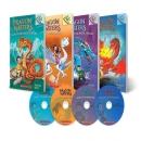 [PAC]Dragon Master 세트 4종(드래곤 마스터 세트 4종 책+CD)