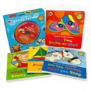 [BAC] Ladybird Action Rhymes Collection With CD (4 Boardbooks + 1 CD) * 노래 CD아님, 본문 읽어주는 음원