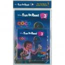 [PAC+WB] Disney Fun to Read Set 3-23 / A Family Mystery (코코) Paperback(워크북 포함)+Audio CD 1종
