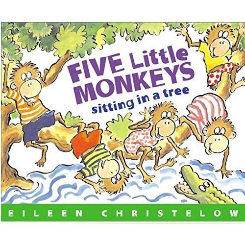 <span>[P]</span> Five Little Monkeys Sitting in a Tre...