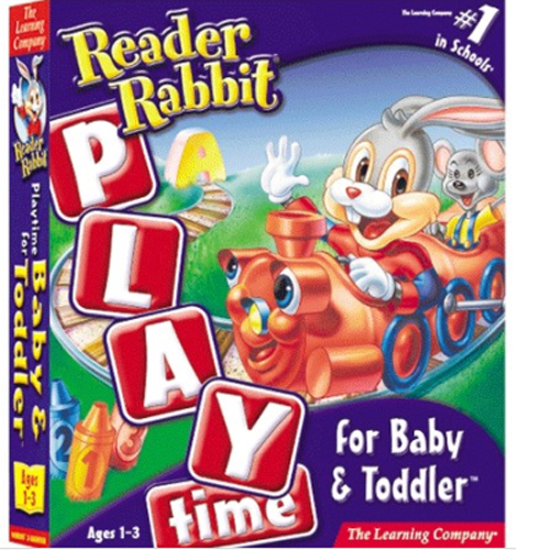 <span>[CD-ROM]</span> 리더래빗 Reader Rabbit - Playti...