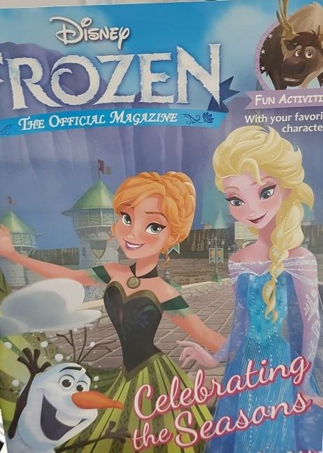 <span>[액티비티]</span> 디즈니 Frozen Magazine