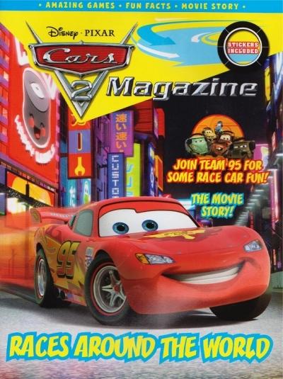 <span>[액티비티]</span> 디즈니 Disney Magazine : Cars...