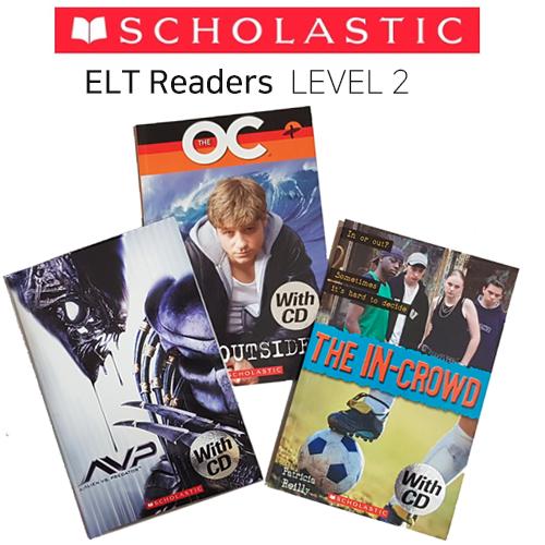 [Book & CD] Scholastic ELT Readers 2단계 3종 셋트