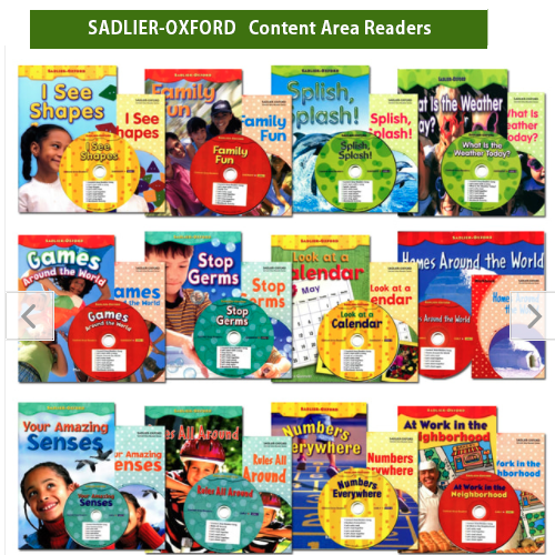 [PAC+WB] OXFORD Sadlier Content Area Readers 12종 세...