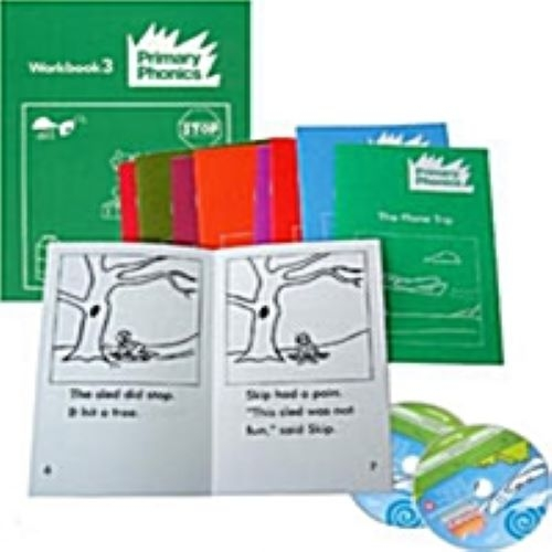<span>[PAC]</span>Primary Phonics 3 단계세트(B+CD+WB)