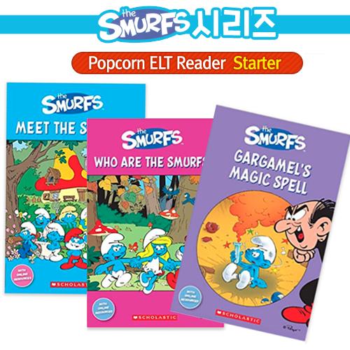 [BOOK&CD]The Smurfs(3종세트)[Scholastic POPCORN E...
