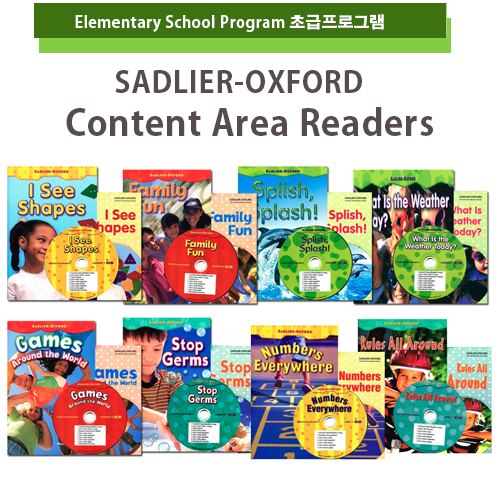 [PAC+WB] OXFORD Sadlier Content Area Readers 8종 세트...