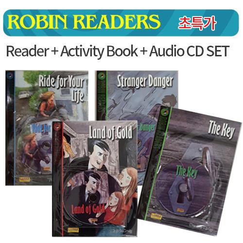 [PAC] Robin Readers [Book+CD+Workbook] 4종세트