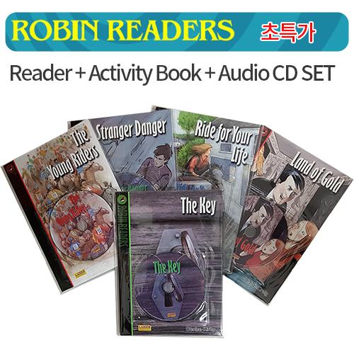 [PAC] Robin Readers [Book+CD+Workbook] 5종세트